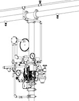 Trim para Valvula de Diluvio Hidraulico